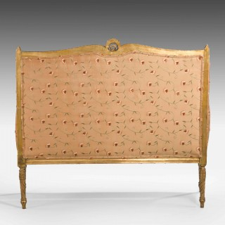 Late 19th Century French Giltwood Canape