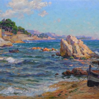 La Corniche by Adolphe Louis Gaussen (1871-1954)