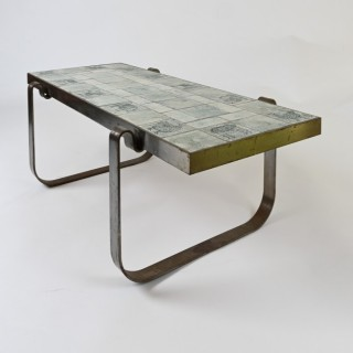 Jacques Blin Ceramic Low Table