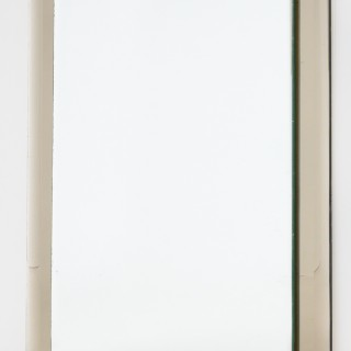 Italian Fontana Arte Style Bevelled Mirror