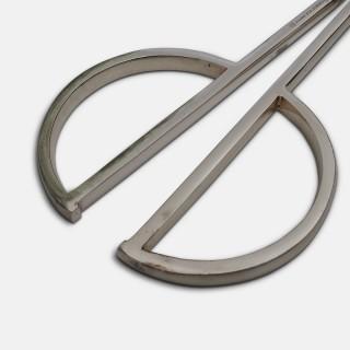 Christofle Modernist Silver Grape Scissors 1960's
