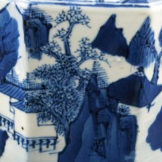 18th Century Qing Period Tea Caddy