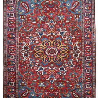 Antique Baktiari rug