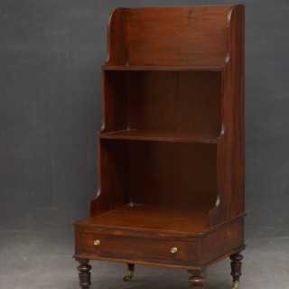 SMALL WILLIAM IV WATERFALL BOOKCASE