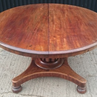19th Century Extending Breakfast Centre Table