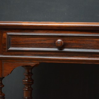 FRENCH ROSEWOOD WRITING TABLE