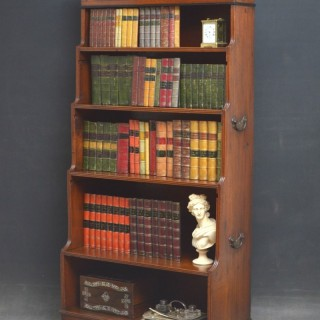 GEORGE IV WATERFALL BOOKCASE
