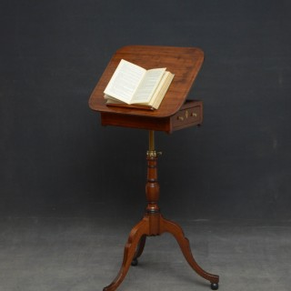 REGENCY MAHOGANY READING TABLE – OCCASIONAL TABLE