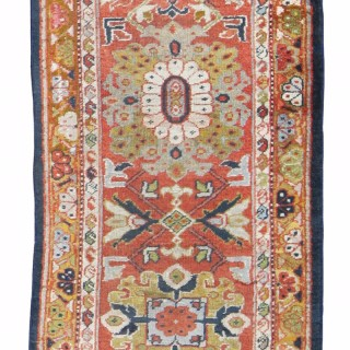 Antique Ziegler border runner