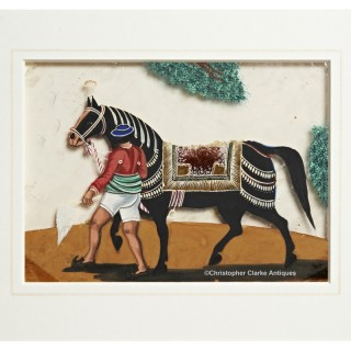Company School Painting Groom With A Horse - HEIC