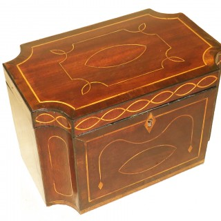 Mahogany 18th Century Tea Caddy