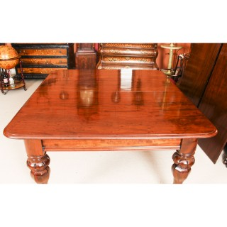 Antique 9ft William IV Mahogany Extending Dining Table C1830 19th C