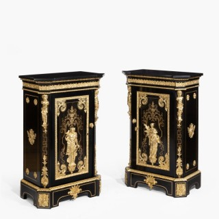 A Rare Pair of Cabinets by Béfort Jeune