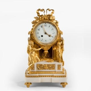 A Belle Époque Mantle Clock by Samuel Marti