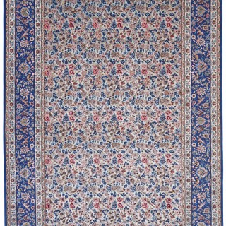 Isfahan carpet, wool and silk