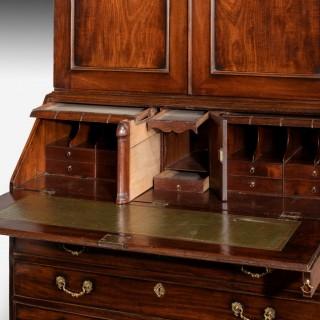 Late 18th Century Mahogany Bureau Bookcase