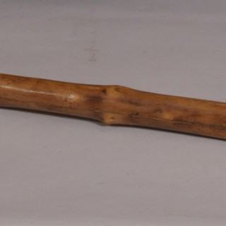 Antique 19th Century Blackthorn Walking Stick