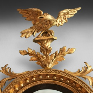 Regency Convex Gilt Mirror