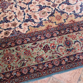 Isfahan carpet, owned by former Prime Minister Harold Wilson