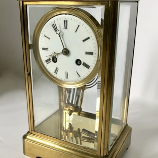 Victorian  Four Glass Clock