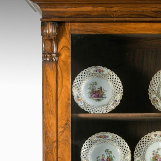 An Outstanding Regency Period Breakfront Bookcase