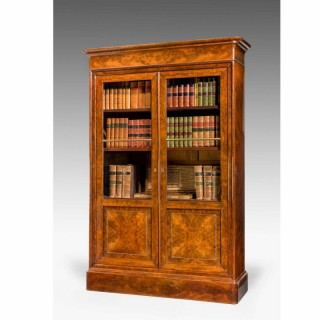 19th Century Walnut Bookcase