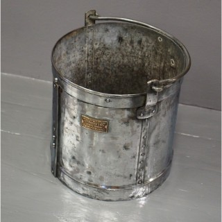 Polished Steel Bucket