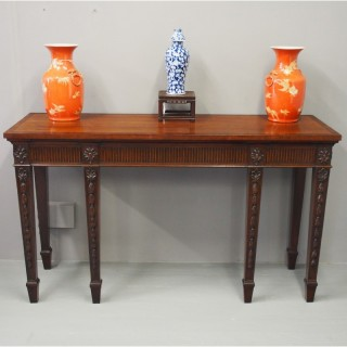 George III Style Mahogany Serving Table