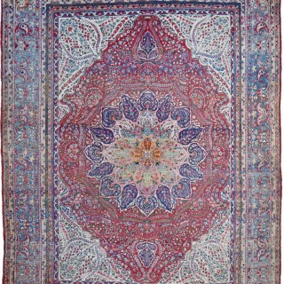 Antique Kirman carpet