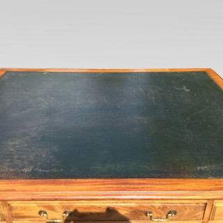 late 19th century mahogany Partners Desk
