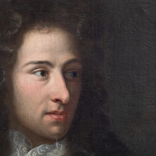 LATE 17TH CENTURY PORTRAIT OF A GENTLEMAN 1696
