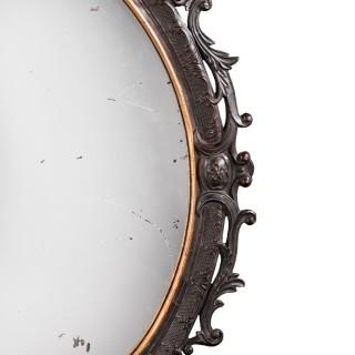 Late 18th Century Mahogany Mirror