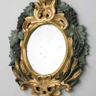 Pair of Late 19th Century Italian Mirrors
