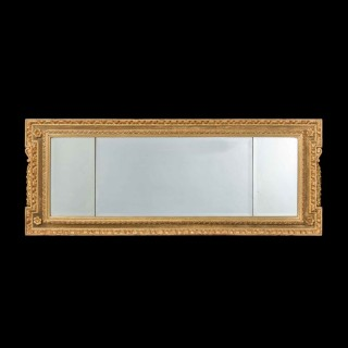 18th Century Parcel Gilt Landscape Mirror