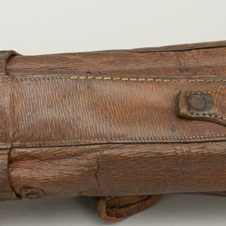 Leather Pencil Golf Bag Circa 1900