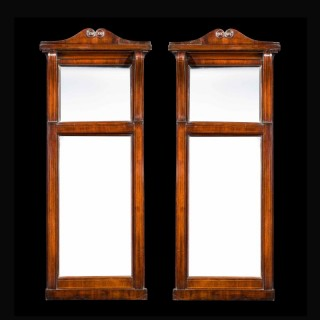 Pair of Regency Period Pier Mirrors