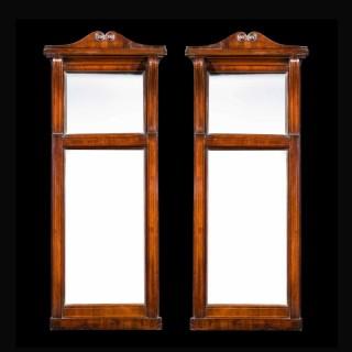 Pair of Regency Period Pier Mirrors