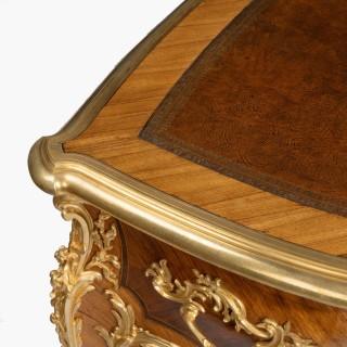 A Bureau Plat in the Louis XV Manner By François Linke