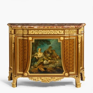 A Very Fine Commode By Henry Dasson