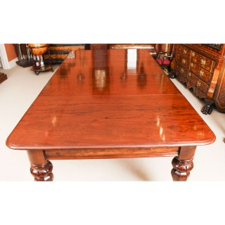 Antique William IV Mahogany Dining Table & set 10 chairs Circa 1830 19th C