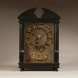 17th Century Hague Clock Signed by Pieter Visbagh, Circa 1675
