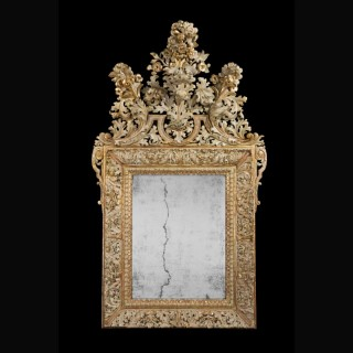 Early 18th Century Swedish Mirror
