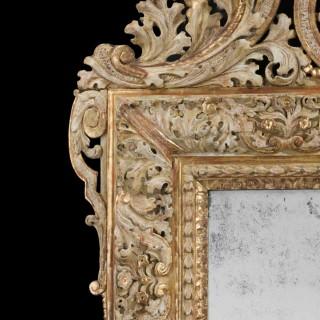 Early 18th Century Swedish Mirror