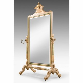 Mid 19th Century French Cheval Mirror