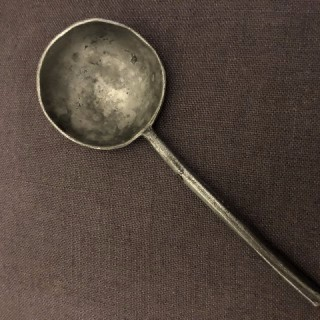 17th Century Pewter Spoon