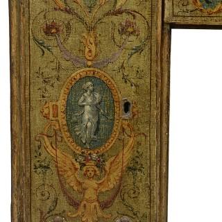 18th Century Venetian knee hole desk.