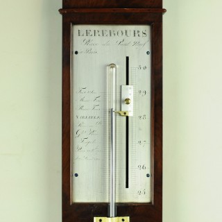 Early 19th century French stick barometer by Lehours