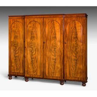 Mid 19th century Mahogany Wardrobe