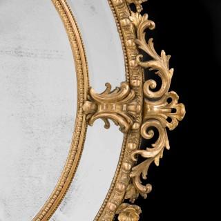 A 19th Century Giltwood Mirror
