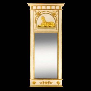 Early 19th Century North European Mirror